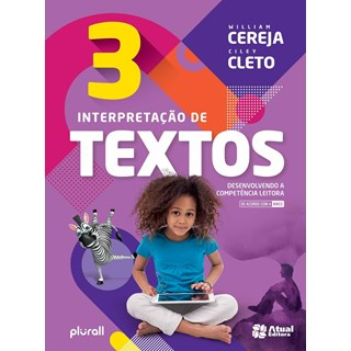 Livro - Interpretação de Textos BNCC - 3 Ano - Cereja - Atual