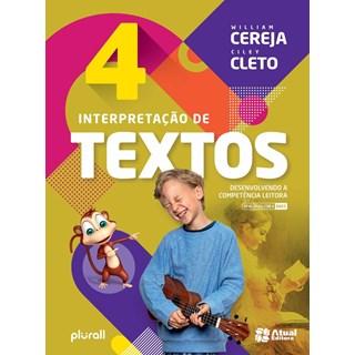 Livro - Interpretação de Textos BNCC - 4 Ano - Cereja - Atual