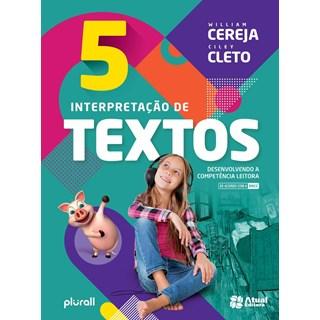 Livro - Interpretação de Textos - BNCC - 5 Ano - Cereja - Atual