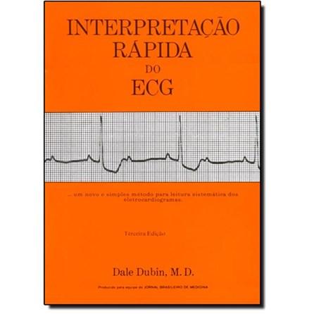 Livro - Interpretação Rápida do ECG - Dubin 3ª edição