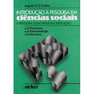 Livro - Introdução Á Pesquisa em Ciências Sociais -  Triviños