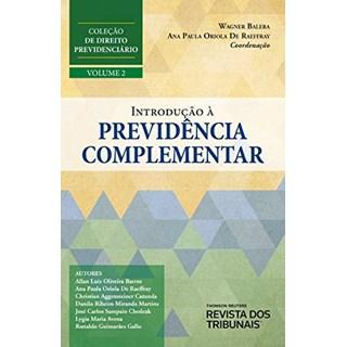 Livro Introdução À Previdência Complementar - Balera - Revista dos Tribunais