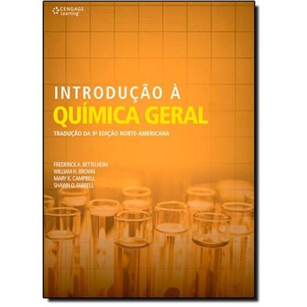 Livro - Introdução à Química Geral - Bettelheim