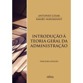 Livro - Introdução à Teoria Geral da Administração - Maximiano