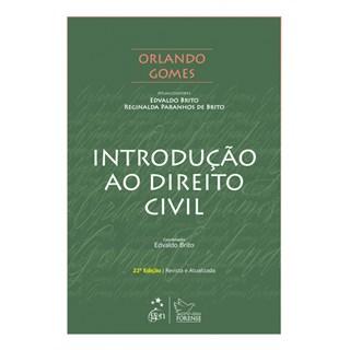 Livro - Introdução ao Direito Civil - Gomes