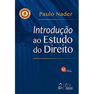Livro - Introdução ao Estudo do Direito - Nader - Forense