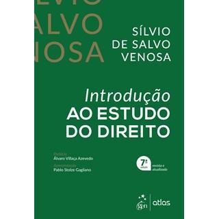Livro - Introdução ao Estudo do Direito - Venosa - Atlas