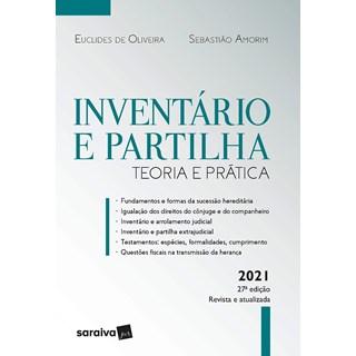Livro Inventário e Partilha - Amorim - Saraiva