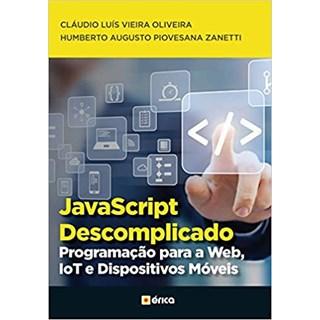 Livro - JavaScript Descomplicado - Oliveira - Érica