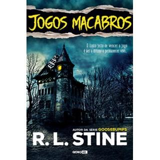 Livro - Jogos macabros - Stine - Globo