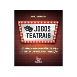 Livro - Jogos teatrais - Grimberg 1º edição