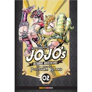 Livro - Jojo's Bizarre Adventure - Parte 1 - Phantom Blood - Vol 02 - Araki