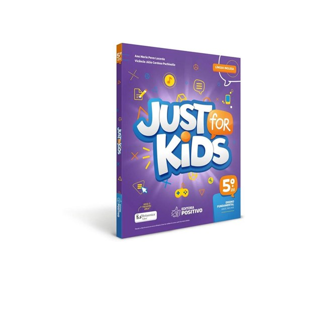 Livro - Just for Kids - 5 Ano - BNCC - Positivo