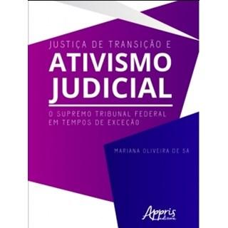 Livro - Justiça de Transição e Ativismo Judicial - Sá