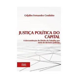 Livro Justiça Política do Capital - Coutinho - Tirant