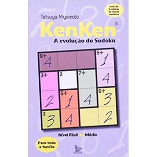 Livro - KenKen - A Evolução Do Sudoku - Miyamoto