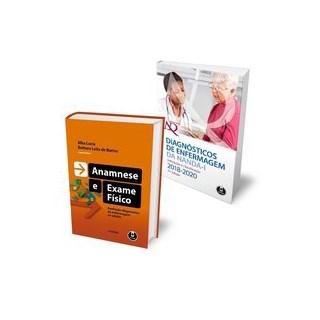Livro - Kit Diagnósticos de Enfermagem da NANDA-I + Anamnese e Exame Físico - Barros 1º edição