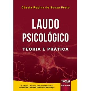 Livro Laudo Psicológico - Preto - Juruá
