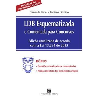 Livro - LDB Esquematizada e Comentada Para Concursos - Lima