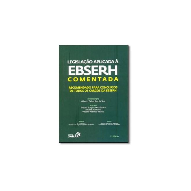 Livro - Legislação Aplicada à EBSERH Comentada - Santos
