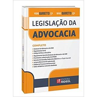 Livro - Legislação Da Advocacia - Barreto - Pré Venda