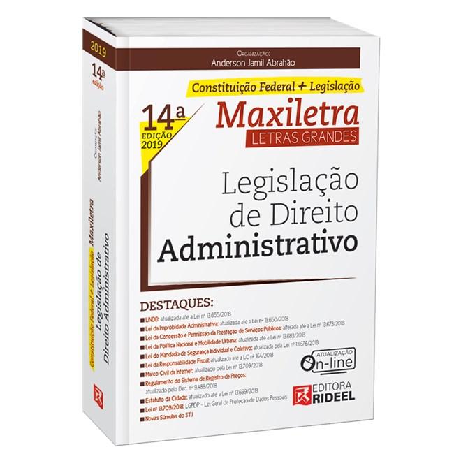 Livro - Legislação de Direito Administrativo - Abrahão