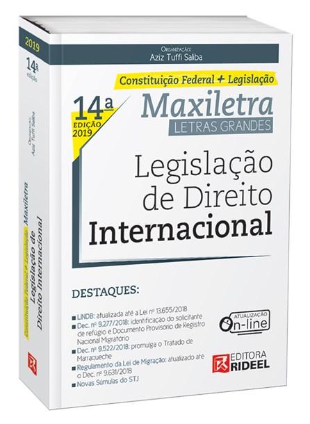 Livro - Legislação de Direito Internacional - Saliba