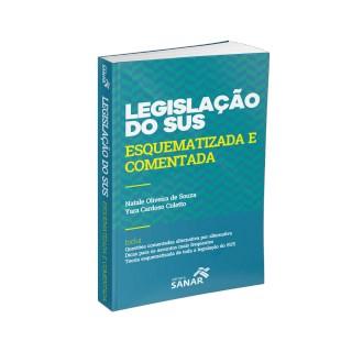Livro - Legislação do SUS - Comentada e Esquematizada para Concursos - Cardoso