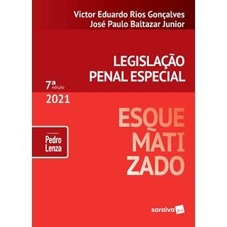 Livro Legislação Penal Especial Esquematizado 2021 - Junior - Saraiva