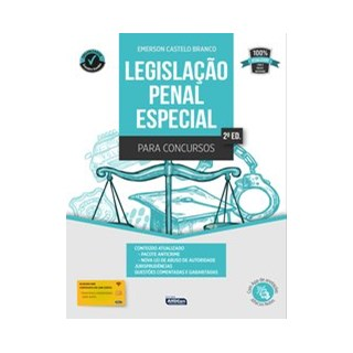 Livro - Legislação Penal Especial para Concursos - Castelo Branco 2º edição
