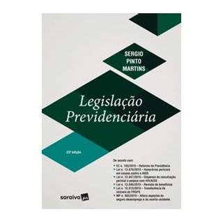 Livro - Legislação Previdenciária - Martins 23º edição