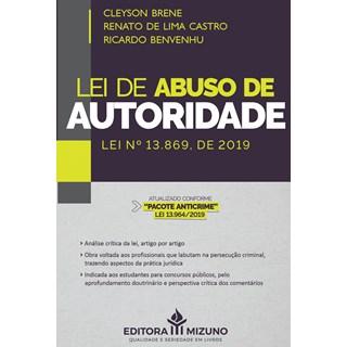 Livro Lei de Abuso de Autoridade - Brene - Jh Mizuno