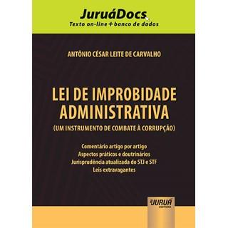 Livro - Lei de Improbidade Administrativa - Carvalho