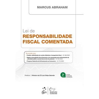 Livro - Lei de Responsabilidade Fiscal Comentada - Abraham - Forense