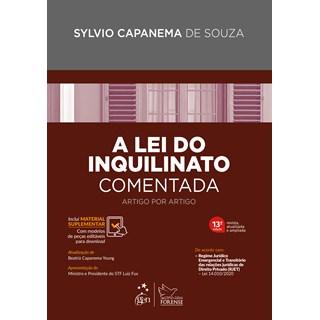 Livro - Lei do Inquilinato Comentada Artigo por Artigo - Souza - Forense