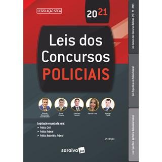 Livro Lei dos Concursos Policiais - Oliveira - Saraiva