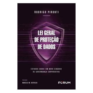 Livro - Lei geral de proteção de dados - Pironti 1º edição