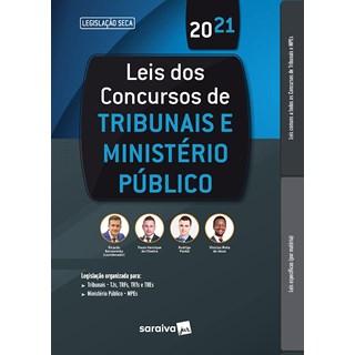 Livro Leis dos Concursos de Tribunais e Ministério Público - Oliveira - Saraiva