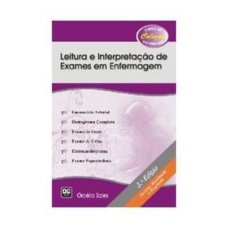 Livro - Leitura e Interpretação de Exames em Enfermagem - Sales