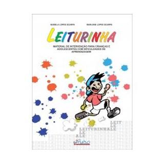 Livro - Leiturinha - Material de Intervenção para crianças e adolescentes com dificuldades de Aprendizagem -Scarpa