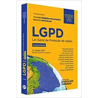 Livro - LGPD: Lei Geral de Proteção de Dados - Maldonado - Revista dos Tribunais