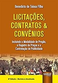 Oferta Livro - Licitações, Contratos & Convênios - Filho - Juruá por R$ 164.8
