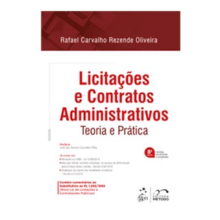 Livro - Licitações e Contratos Administrativos - Teoria e Prática - Oliveira