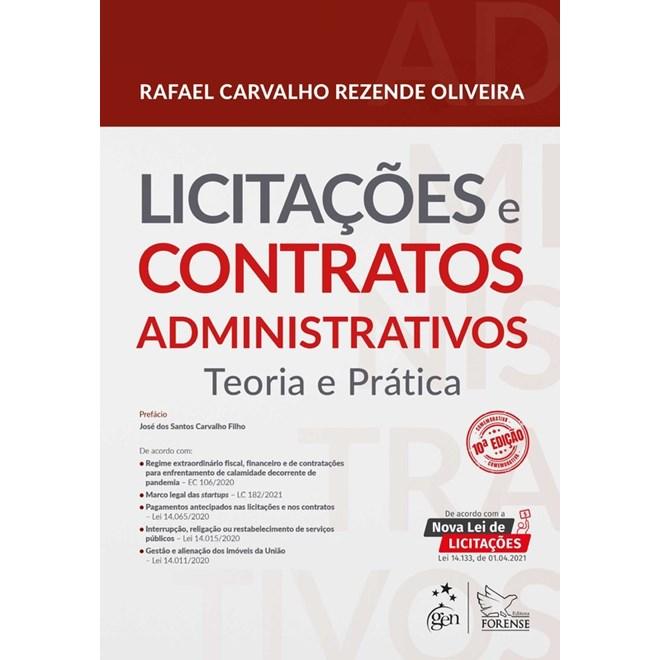 Livro - Licitações e Contratos Administrativos - Teoria e Prática - OLIVEIRA 9º edição