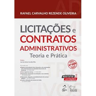 Livro Licitações e Contratos Administrativos: Teoria e Prática - Oliveira - Forense