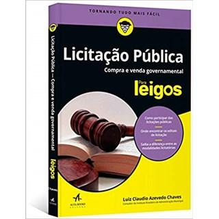Livro - Licitações Públicas para Leigos - Chaves