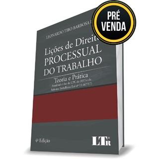 Livro - Lições de Direito Processual do Trabalho - Lima