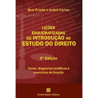 Livro - Lições esquematizadas de introdução ao estudo do direito