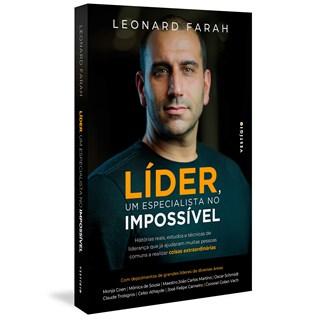 Livro Líder, um Especialista no Impossível - Farah - Autêntica