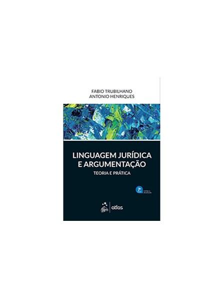 Livro - Linguagem Jurídica e Argumentação - Trubilhano